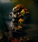 Eroded Man 88g, 27x24, 2010