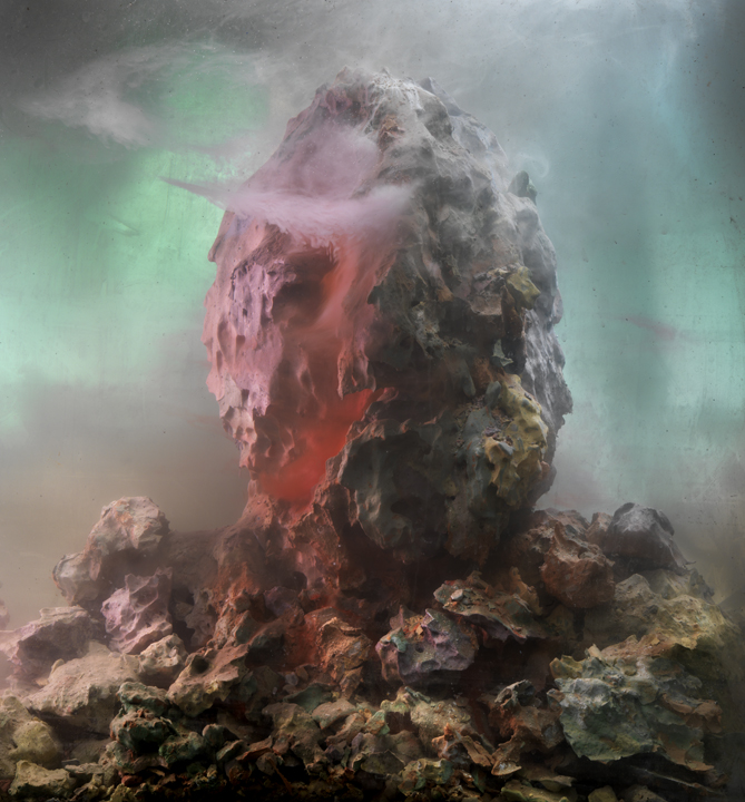 Eroded Man 64b, 26x24, 2010 Kim Keever