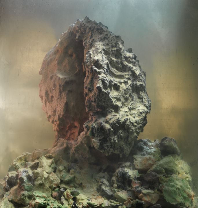 Eroded Man 68d, 25x24, 2010 Kim Keever