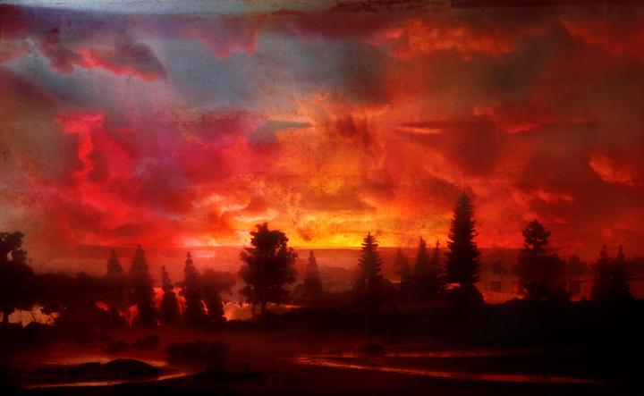 4424 Sunset 44d, 31x48, 46x72,52x82, 2007
