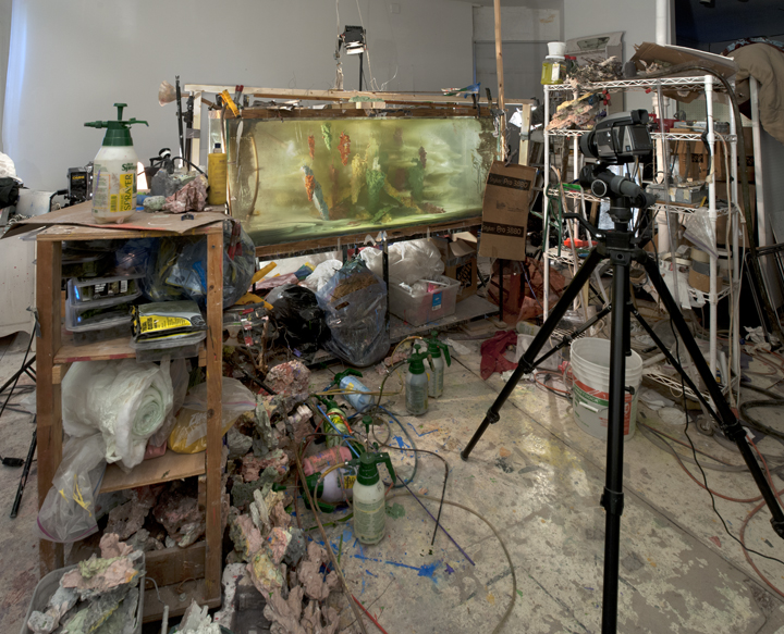 Studio view for Abstract 9255