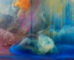 "Abstract 7824b, 24x28"", 40x48"", 2014"
