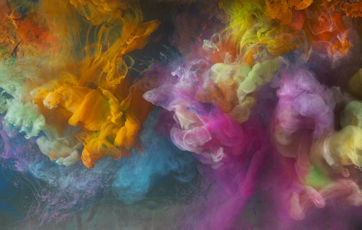 "Abstract 13837c, 24x36"", 50x73"", 2014, Waterhouse & Dodd Gallery, NYC"