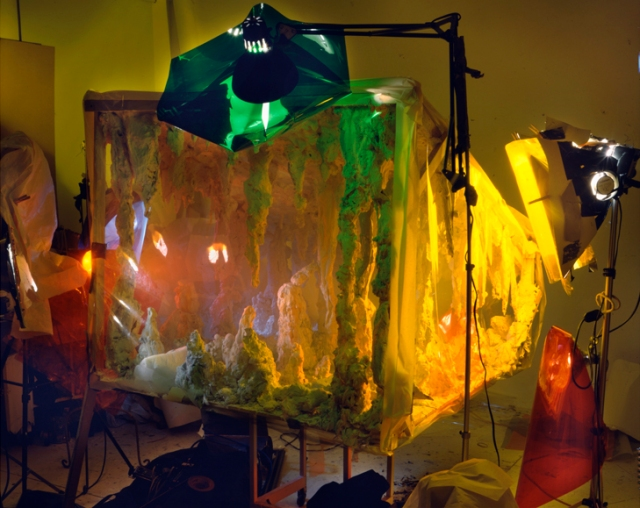 Studio view with plastic 1993