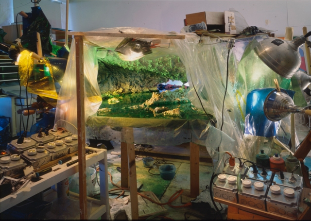 Studio view for Eight Months, 1997