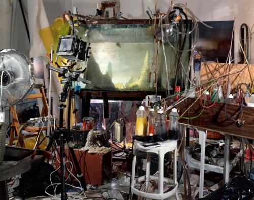 Studio view, 2001