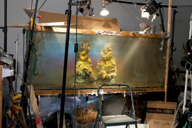 Studio view for Two Women 691d, 2012