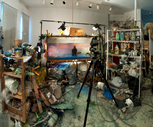 Studio view for One of a Kind 15, 2013