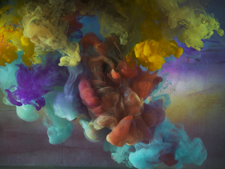 Exhibit At Kinz Tillou Fine Art Abstract Photographs Kim Keever