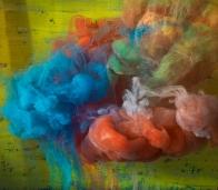 "Abstract 21694b, 28x31"", 50x57"", 2016"