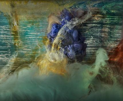 "Abstract 21969b, 28x33"", 48x58"", 2016"