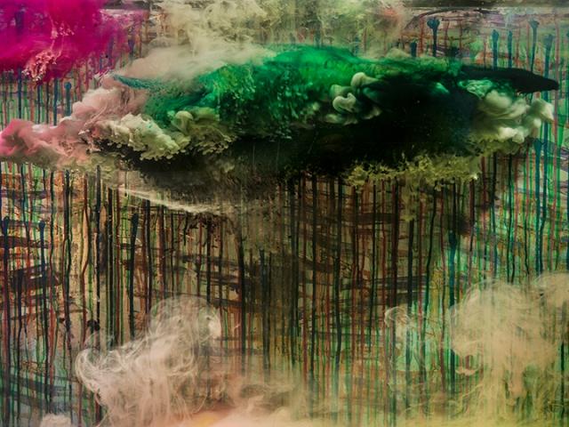 "Abstract 23060b, 28x36"", 36x47"", 2016"